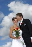 Couples en nuages Images stock