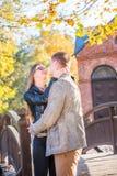Couples en parc photographie stock