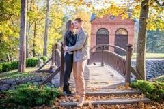 Couples en parc photographie stock libre de droits