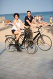 Couples en vacances Photo libre de droits