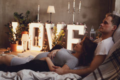 Couples enceintes Photographie stock