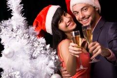 Couples encourageants images stock