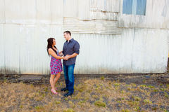 Couples engagés images stock
