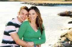 Couples engagés Image libre de droits