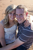 Couples engagés Photo stock