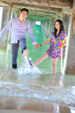 Couples enjoy Royalty Free Stock Photo