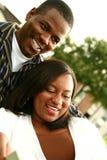 Couples Enjoyi d'Afro-américain Photo libre de droits