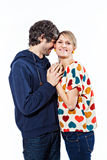 Couples ensemble photo stock