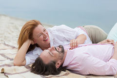 Couples entre deux âges Photos libres de droits