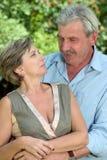 Couples entre deux âges Photographie stock