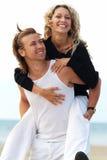 Couples espiègles Images libres de droits
