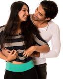 Couples espiègles Photographie stock libre de droits