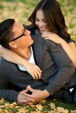 Couples ethniques Photos libres de droits