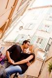 Couples européens Photos libres de droits