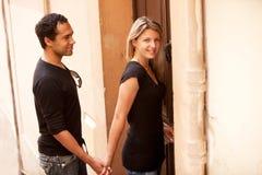 Couples européens français Images stock