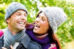 Couples extérieurs Images stock