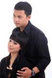 Couples extérieurs Image libre de droits
