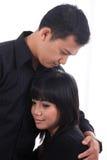 Couples extérieurs Photo stock