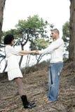 Couples extérieurs Photos libres de droits