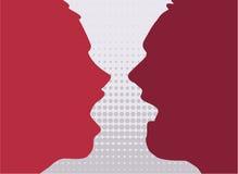 couples fâchés illustration libre de droits