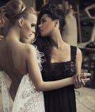 Couples femelles parfaits Image stock