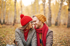 Couples Flirty Photos stock