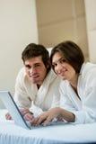Couples fonctionnant le bâti II Images stock