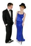 Couples formels Images libres de droits