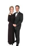 Couples formels Photographie stock libre de droits