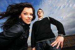 Couples frais Photographie stock