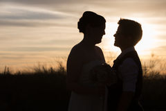 Couples gais affectueux Photo libre de droits