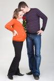 Couples gentils photos stock
