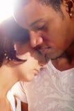 Couples grands dans l'amour Photo libre de droits