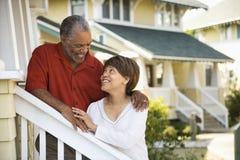 Couples âgés moyens. Photographie stock libre de droits