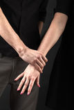 Couples hand Royalty Free Stock Photo