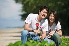 Couples happy Royalty Free Stock Photos