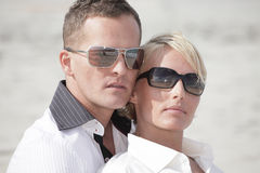 Couples headshot Stock Photo