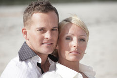 Couples headshot Royalty Free Stock Photo