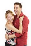 Couples heureux 1 image stock