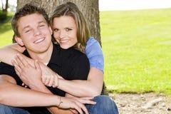 Couples heureux image libre de droits