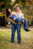 Couples heureux Photos libres de droits