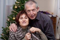 Couples heureux Photographie stock