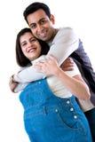 Couples heureux Photo libre de droits