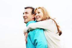 Couples heureux images libres de droits