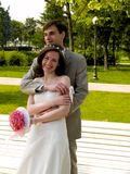 Couples heureux 4 Photographie stock