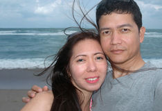 Couples heureux Photos stock