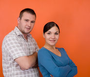 Couples heureux Images stock