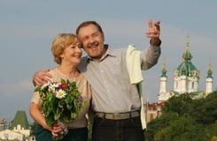 couples heureux Photographie stock libre de droits
