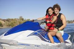 Couples heureux montant PWC Image libre de droits