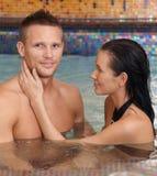 Couples heureux sur la santé Image libre de droits